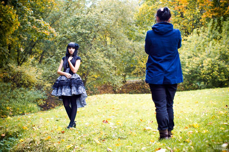 Люди в городе: Любительские фотосессии в парке. Изображение №14.
