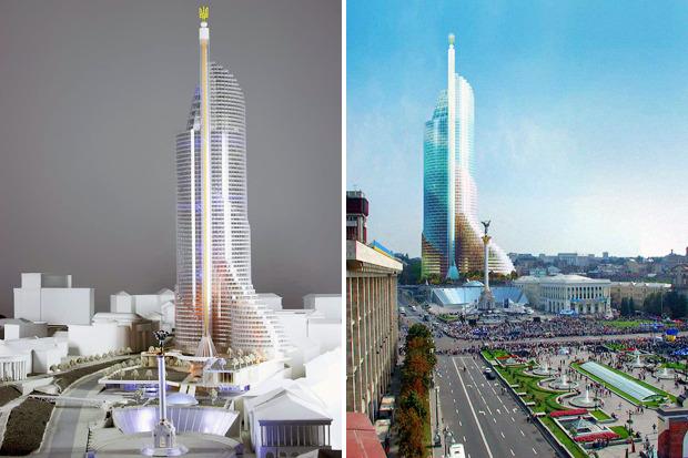 На бумаге: 8 нереализованных архитектурных проектов в Киеве. Зображення № 79.