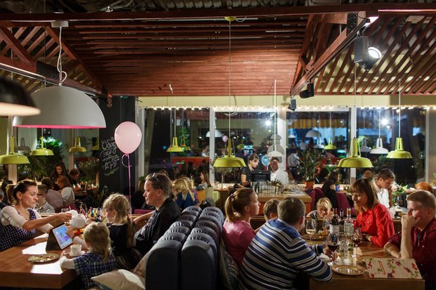 В Озерках открылся самый большой вгороде ресторан «Марчелли's». Изображение № 4.