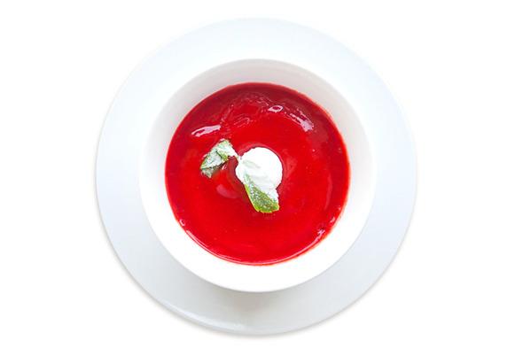 Сезонное меню: Холодные супы в ресторанах Петербурга. Изображение № 19.