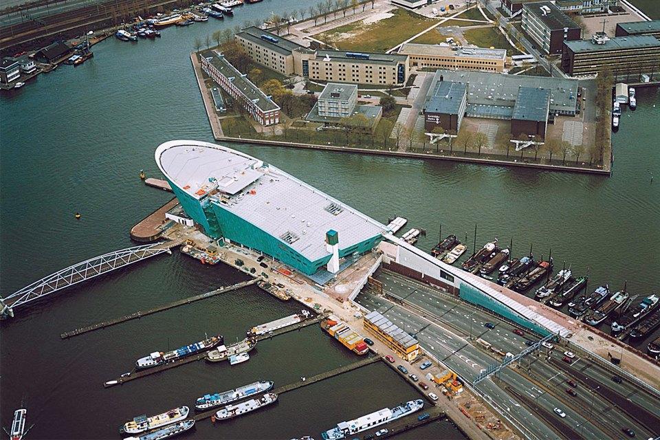 Остердокс, центр новой архитектуры Амстердама. Изображение № 2.