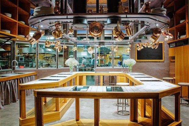 НаТверской улице открылась кулинарная студия «Чайхоны №1» под названием Live Kitchen. Изображение № 1.