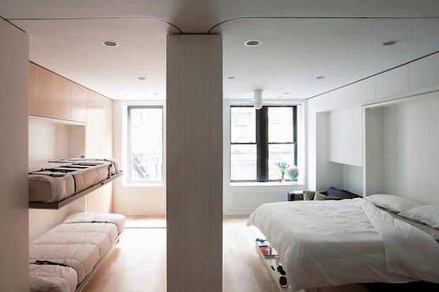 Как преобразить квартиру при помощи встроенной мебели. Изображение № 5.