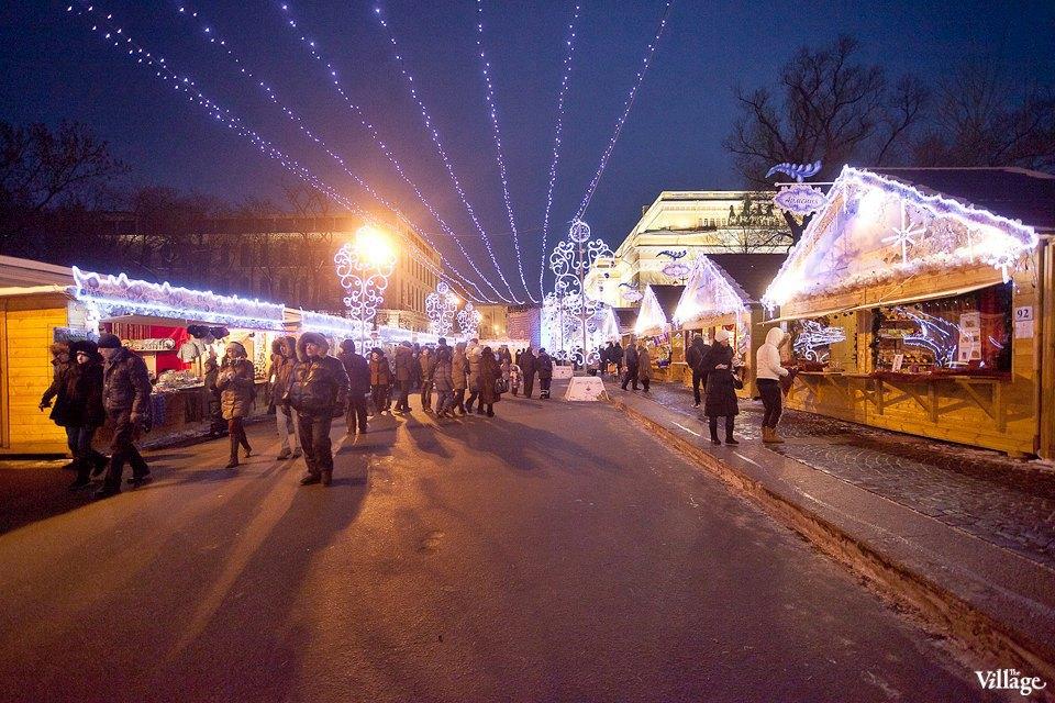 Люди в городе: Продавцы рождественской ярмарки на Островского. Изображение № 18.