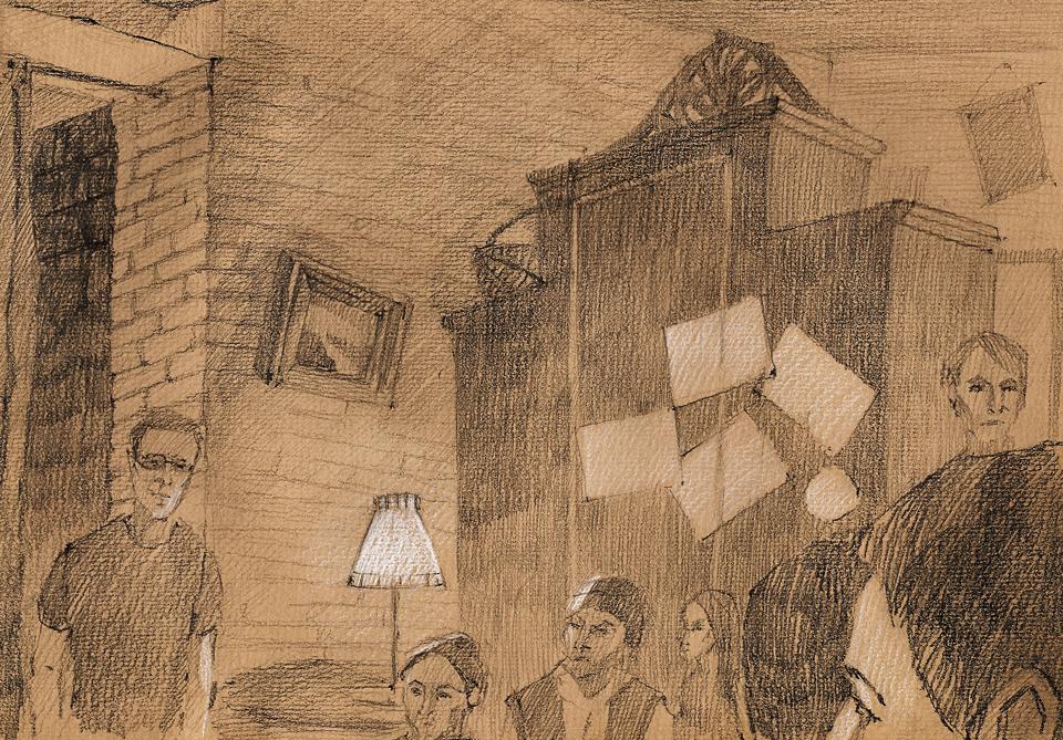Клуб рисовальщиков: Музыканты. Изображение № 16.