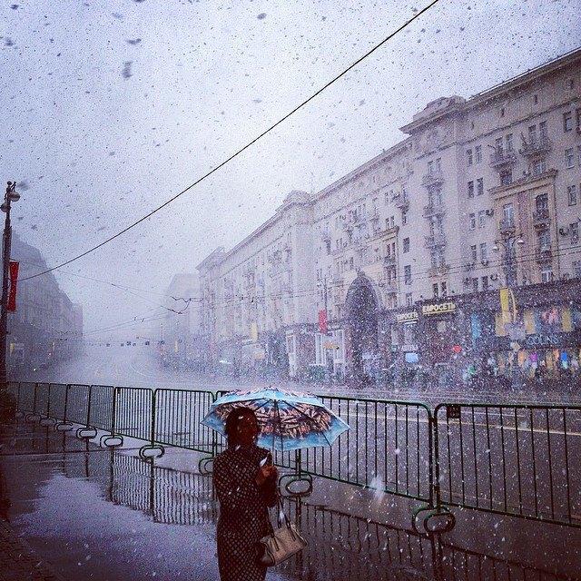 Майский снегопад вснимках Instagram. Изображение № 16.
