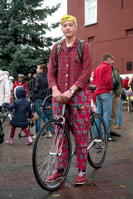 Люди в городе: участники велопарада впижамах. Изображение № 16.