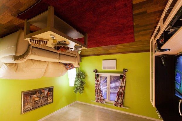Как выглядит перевёрнутая квартира наНевском . Изображение № 5.
