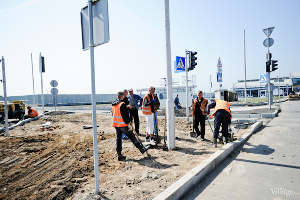 Фоторепортаж: Новый терминал аэропорта Киев — за день до открытия. Зображення № 6.
