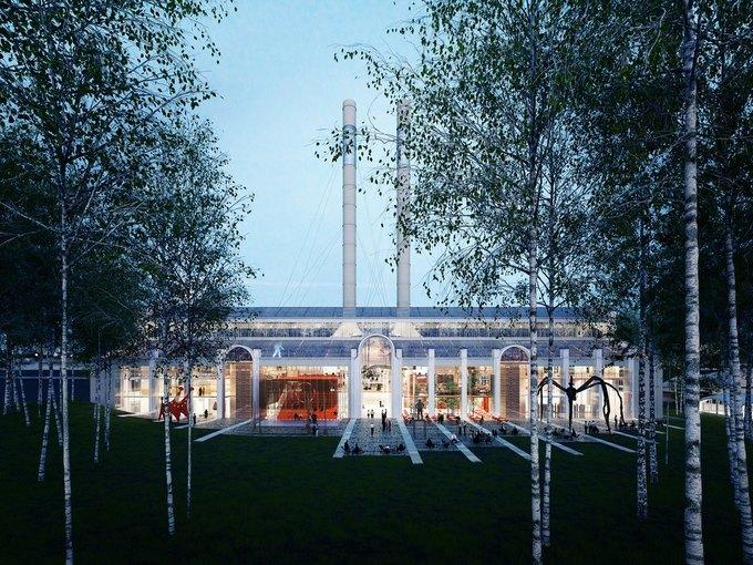 Итальянское бюро разработало концепцию центра современного искусства в ГЭС-2. Изображение № 3.