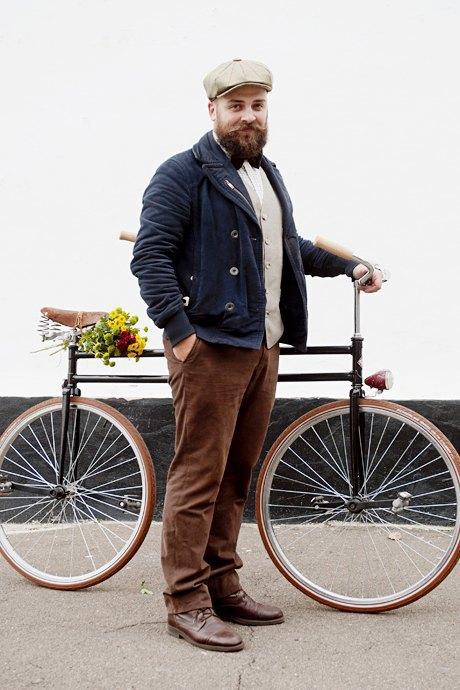 Твид выходного дня: Участники ретрокруиза — о своей одежде и велосипедах. Изображение № 23.