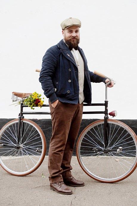 Твид выходного дня: Участники ретрокруиза — о своей одежде и велосипедах. Зображення № 23.
