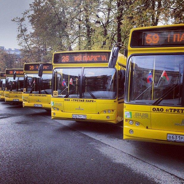 В Петербург завезли белорусские автобусы с Wi-Fi. Изображение № 1.
