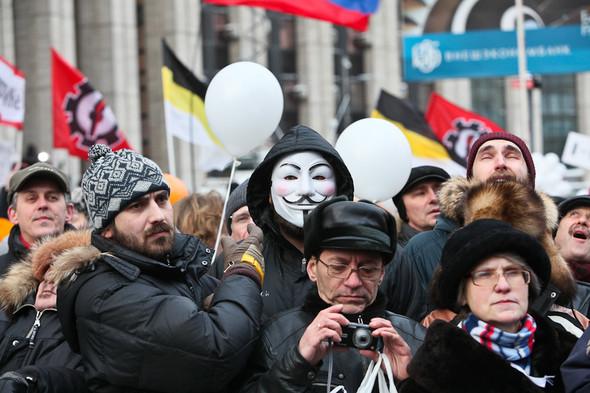 Митинг «За честные выборы» на проспекте Сахарова: Фоторепортаж, пожелания москвичей и соцопрос. Изображение № 52.