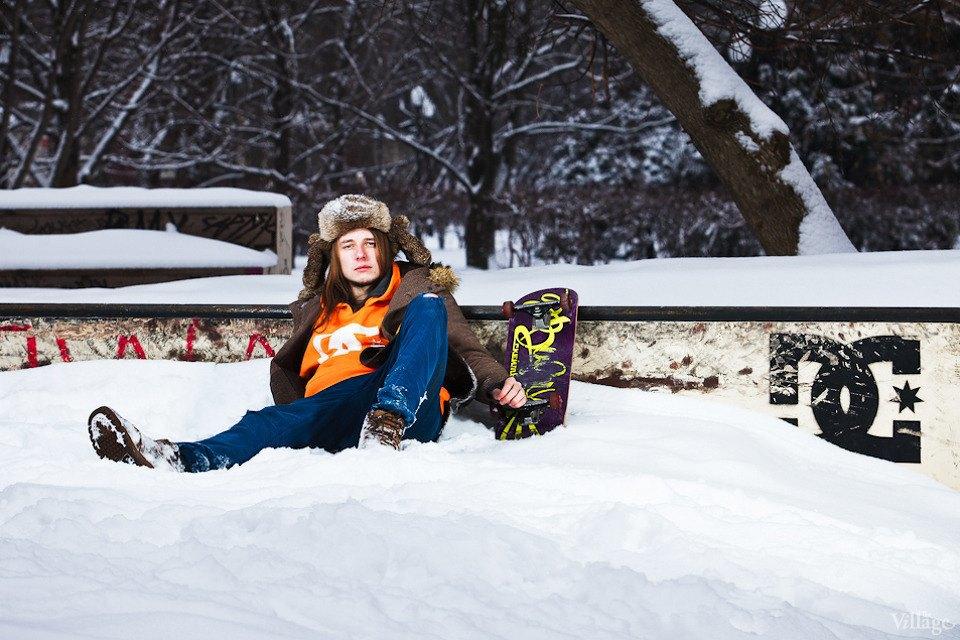 Люди в городе: Где катаются скейтеры зимой. Изображение № 2.