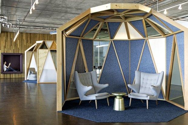 Новые подходы корганизации офисного пространства. Изображение № 1.