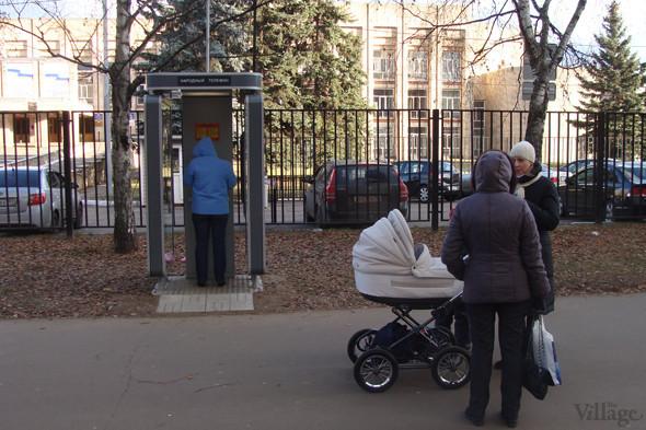 На севере Москвы установили первый бесплатный таксофон. Изображение № 5.