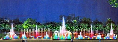 На Оболони построят самый большой в городе фонтан. Изображение № 1.