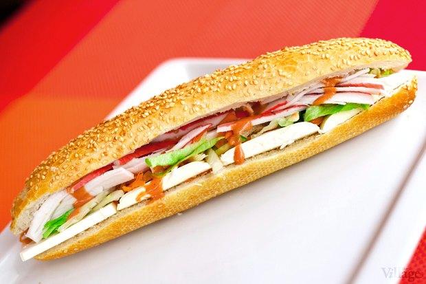 Сэндвич Stop&Eat крабовый — 35 гривен. Изображение № 3.