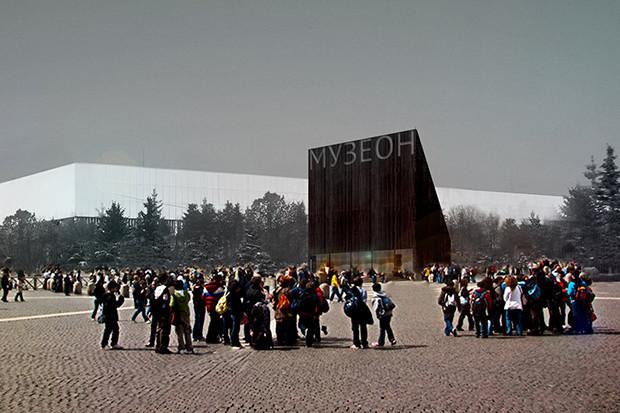 Евгений Асс создал концепцию нового «Музеона». Изображение № 1.