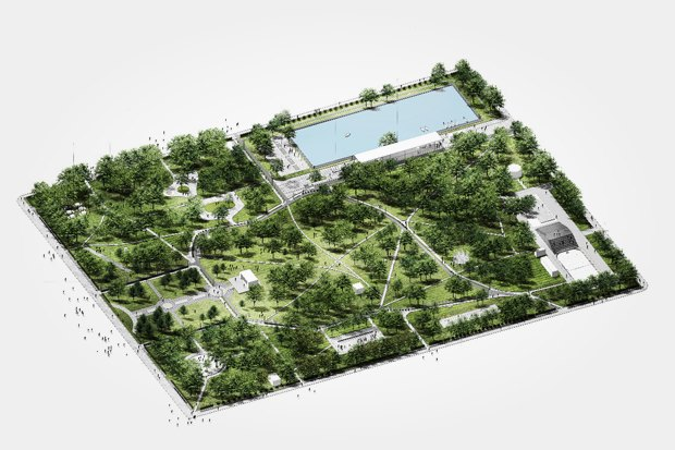Как будет выглядеть обновлённый парк наРуставели. Изображение № 2.