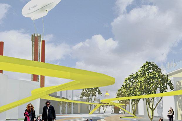 10 проектов квартала около Витебского вокзала . Изображение №22.