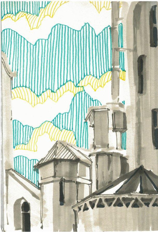 Клуб рисовальщиков: «Белая площадь». Изображение № 3.