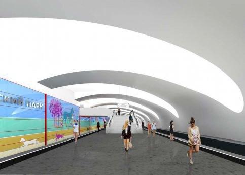 Станцию «Битцевский парк» украсит художественное панно. Изображение № 1.
