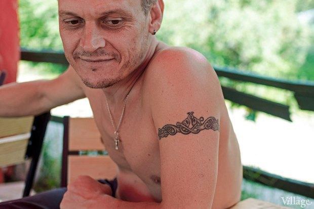 Колко-место: Завсегдатаи Гидропарка — о своих татуировках. Изображение № 8.