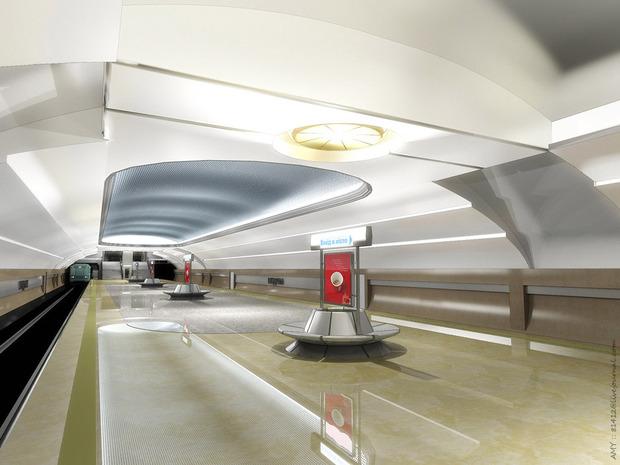Станцию метро «Ипподром» откроют 25 октября. Зображення № 5.