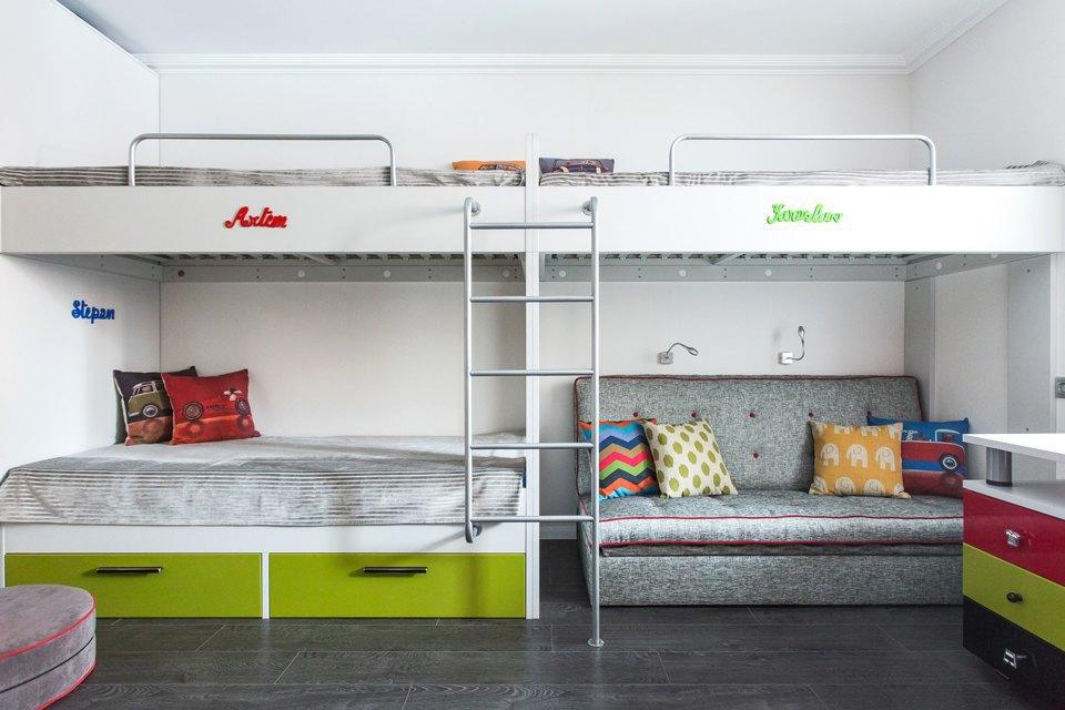 Трёхкомнатная квартира для большой семьи вВидном. Изображение № 16.