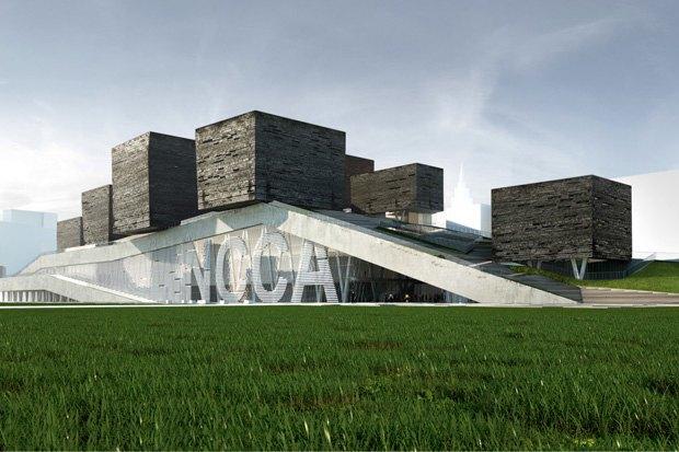 Три проекта нового здания ГЦСИ. Изображение № 10.