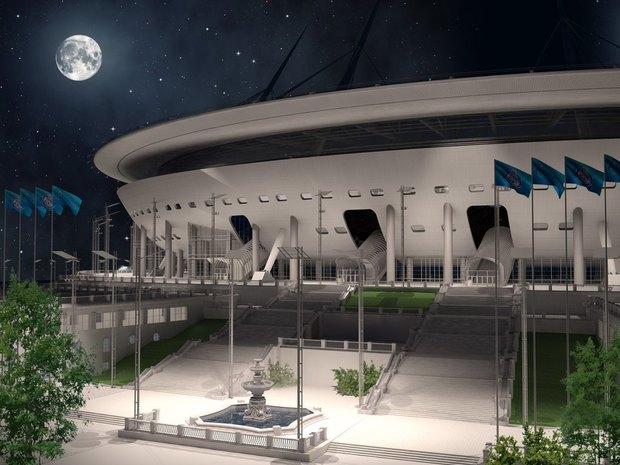 Опубликованы финальные рендеры строящегося стадиона наКрестовском. Изображение № 6.