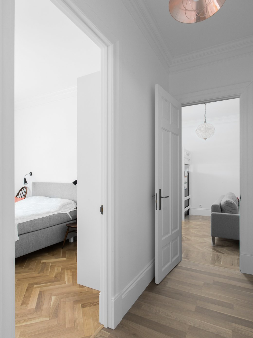 Лаконичная квартира вшведском стиле вновом доме наПетроградской стороне (Петербург). Изображение № 23.