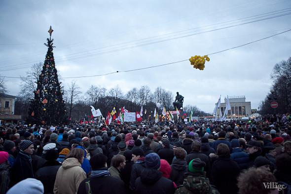 Фоторепортаж: Митинг против фальсификации выборов в Петербурге. Изображение № 31.