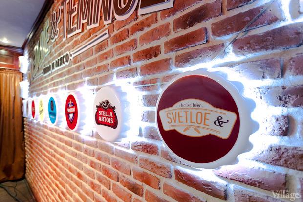 Новое место (Киев): «Svetloe & Temnoe. Пиво и мясо». Зображення № 8.