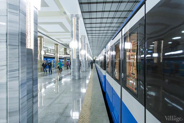 Фоторепортаж: В Киеве открыли новую станцию метро. Зображення № 11.