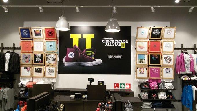 В «Европейском» открылся фирменный магазин Converse. Изображение № 2.