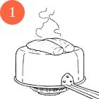 Рецепты шефов: Тёплый салат суткой, капустой, инжиром и яблоками. Изображение № 4.