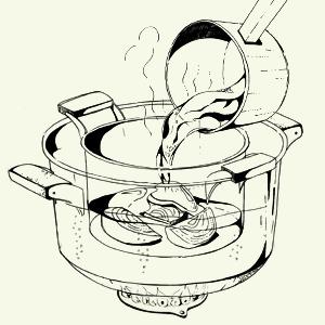 Завтраки дома: Бейгл с лососем иартишоками ибрускетта изресторана «Уголёк». Изображение № 4.