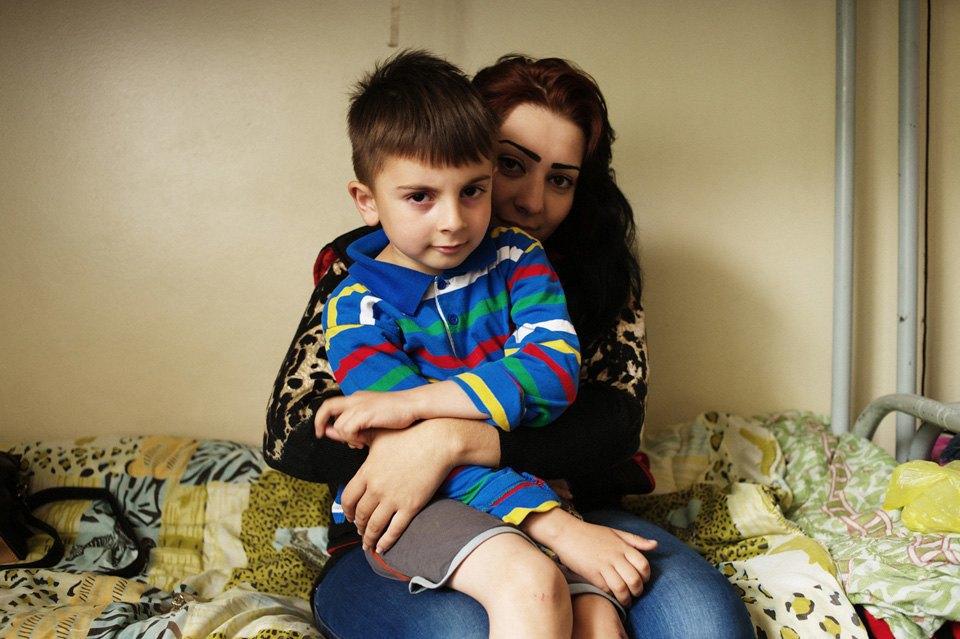 Украинские беженцы  в общежитии вПечатниках. Изображение № 5.