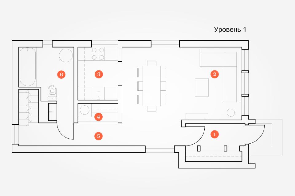 Интерьер недели (Подмосковье): Загородный семейный дом. Изображение № 1.