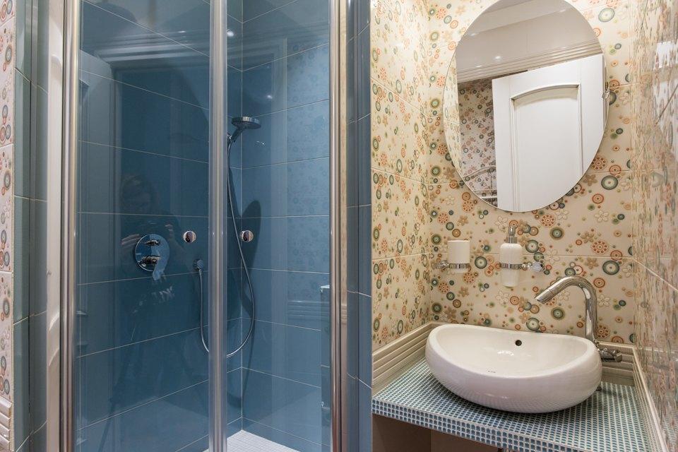 Большая квартира для семьи на«Нагатинской» с кабинетом илимонной ванной. Изображение № 19.