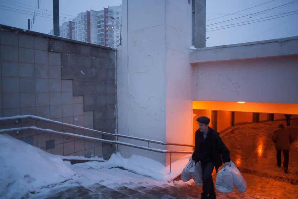 Как Москва справляется снеожиданным декабрьским снегом. Изображение № 7.