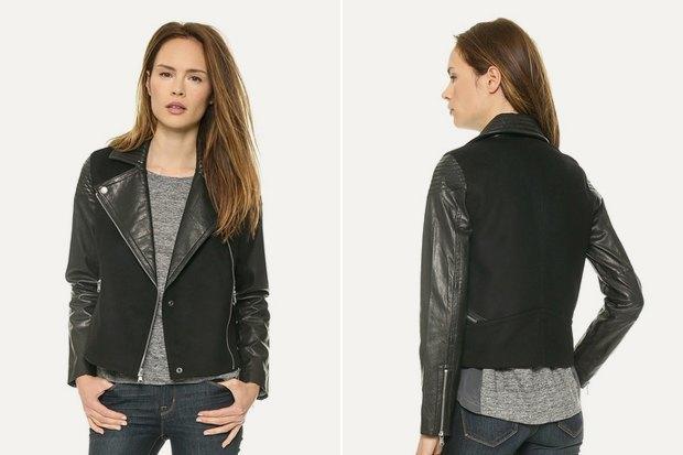 Где купить женскую кожаную куртку: 9вариантов от 8 до 169 тысяч рублей. Изображение № 7.