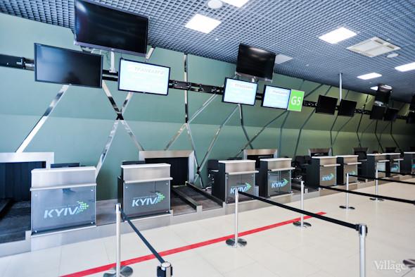 Фоторепортаж: Новый терминал аэропорта Киев — за день до открытия. Зображення № 19.
