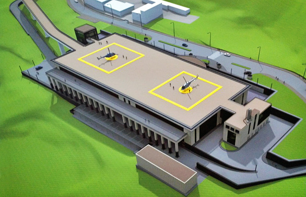 На Парковой аллее появится выставочно-конгрессный комплекс . Зображення № 1.