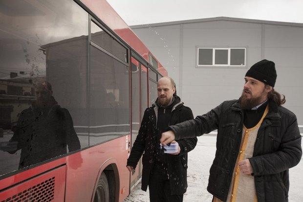 В Петербурге появился социальный автобус для бездомных. Изображение № 1.