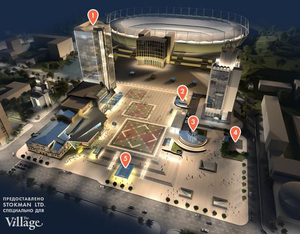 Реконструкция: Как будет выглядеть Троицкая площадь после Евро-2012. Зображення № 3.