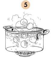 Рецепты шефов: Картофельные ньокки с пармезаном на креме из тыквы. Изображение № 8.